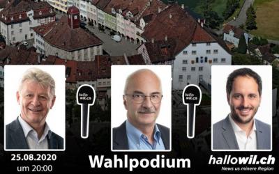Podiumsgespräch aller Kandidaten